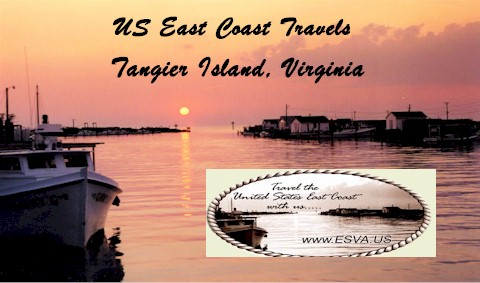 Tangier Island, A Chesapeake Bay Island located 12 miles west of the Eastern Shore of Virginia, Departure Onancock Virginia